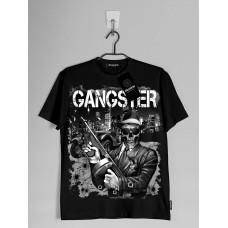 """Футболка стрейч """"Gangster"""" светится в темноте"""