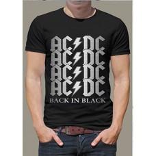 "Футболка ""AC&DC Black and Black"""