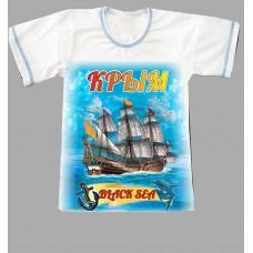 "Футболка детская ""Black sea"""