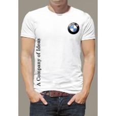 """Футболка """"BMW значок на груди"""""""